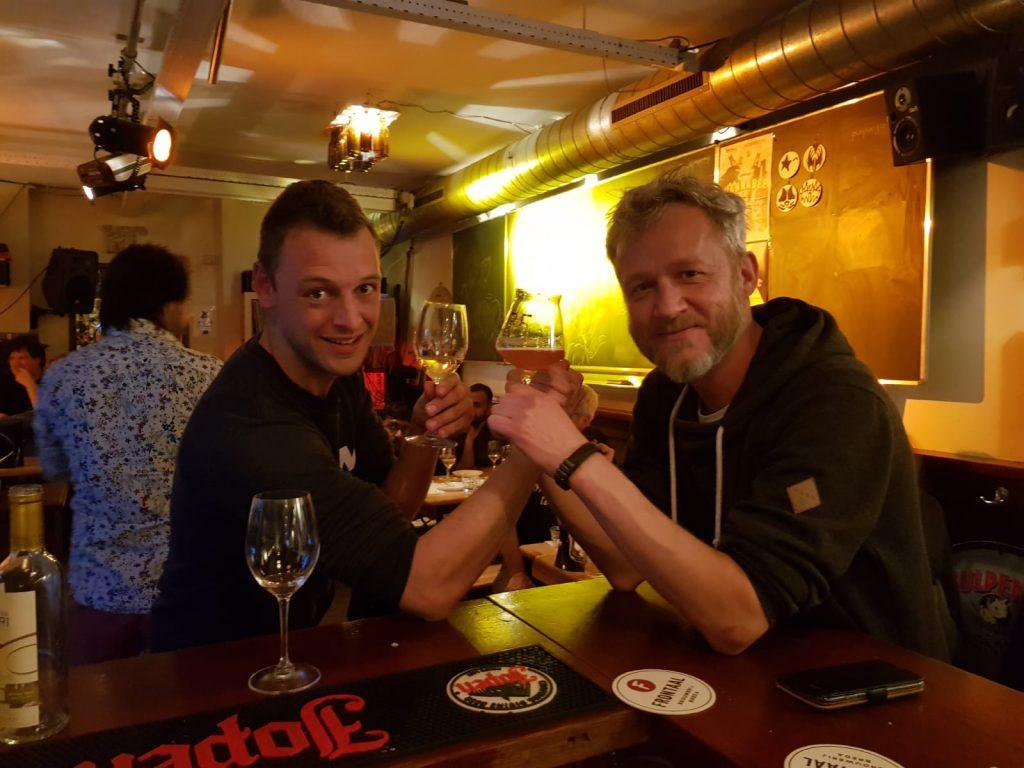 Christian (Viqh aan Huis) & Rob (Lokaal - Dutch Beer Café) zijn klaar voor ronde twee van The Battle