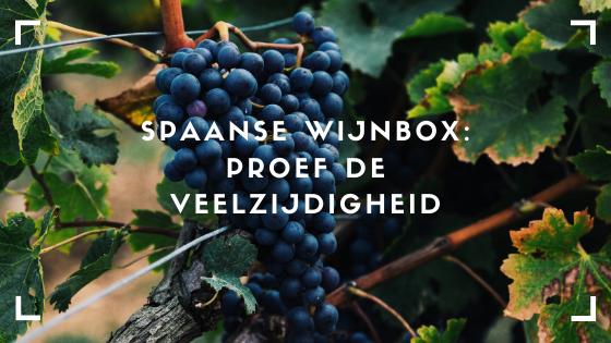 In de Spaanse wijnbox die wij van VIQH aan Huis met veel passie voor u samengesteld hebben proeft u de veelzijdigheid van dit mooie wijnland. Ook zo benieuwd wat u kunt verwachten? Bestel de wijnbox dan hier!