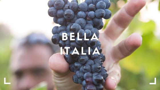 Bella Italia, een land vol met prachtige wijnen. Proeft u de italiaanse wijnen tijdens onze online wijnproeverij?