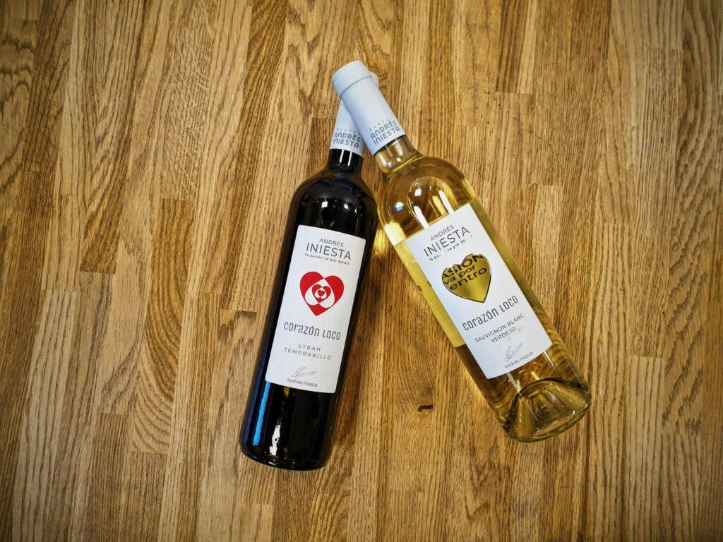 Voetballiefhebber en fan van wijn? Dan is het wijnpakket van Iniësta het perfecte valentijnsdag cadeau